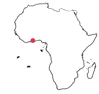 1981 Map of Africa